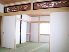 増築した和室